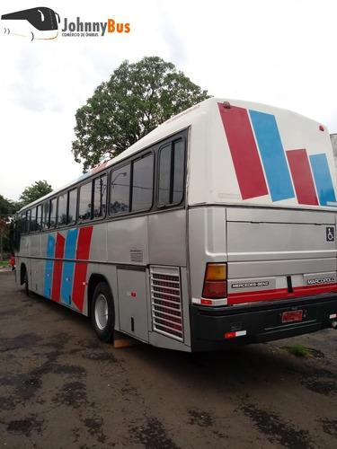 ônibus rodoviário marcopolo viaggio - ano 1989 - johnnybus