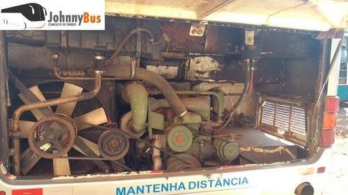 ônibus rodoviário mercedes o400r - ano 1994/94 - johnnybus