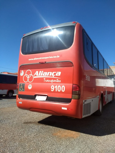 ônibus, rodoviario, motor traseiro o500 ar cond, banh  9100