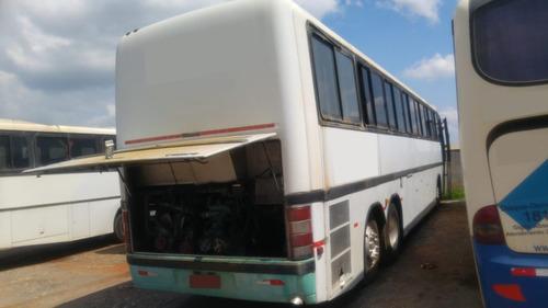 ônibus rodoviario motor traseiro volvo gv1150 (mbo400/scania