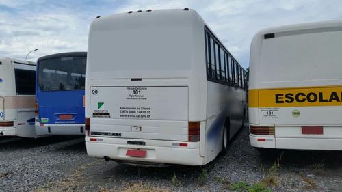 ônibus rodoviário scania motor traseiro marcopolo gv1000