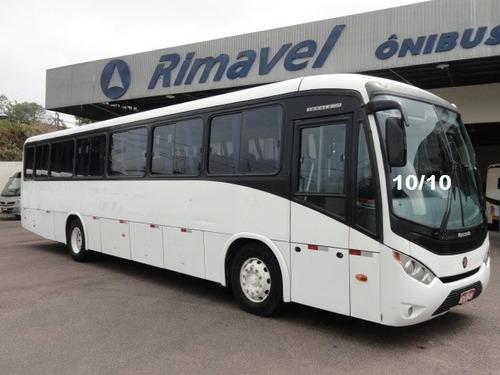 ônibus rodoviario vw 17.230 ano 10/10 48 lug. s/ ar condicio