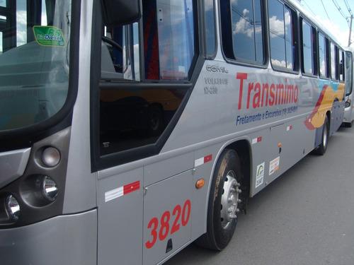ônibus rodoviario vw17230 48lug. 10/10 motor diant. *3800/10