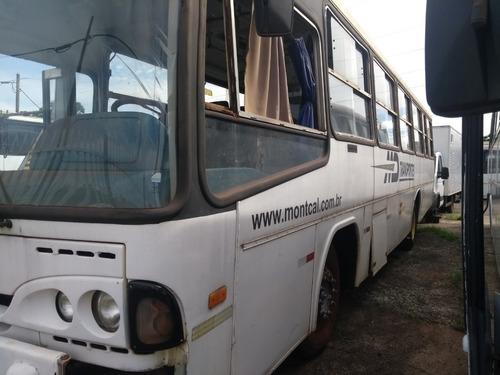 ônibus rural caio alpha 1998/99 p/ food truck