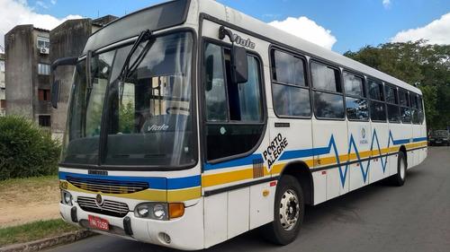 ônibus urbano 06/06,vialle, mbof1722,54l, 40 mil