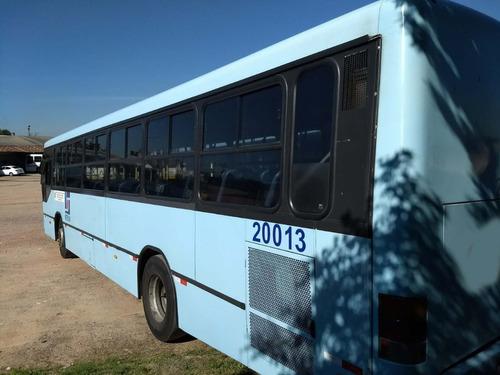 ônibus urbano 2002, neobus, mercedes oh 1621, 49 lug, 22 mil
