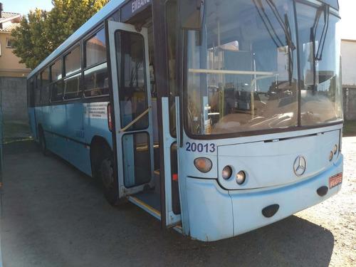 ônibus urbano 2002, neobus, mercedes oh 1621, 49 lug, 28 mil