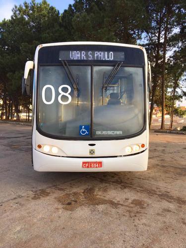ônibus urbano 2008 mercedes benz o500m busscar urbano plus