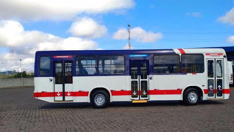 ônibus urbano 2009 mercedes benz of1418 marcopolo torino