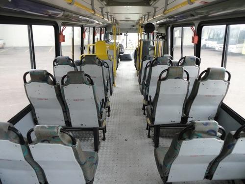 ônibus urbano curto mercedes benz 1721 42 lug. c/ elevador