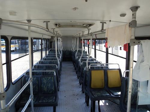 ônibus urbano motor mb dianteiro busscar (marcopolo/comil)