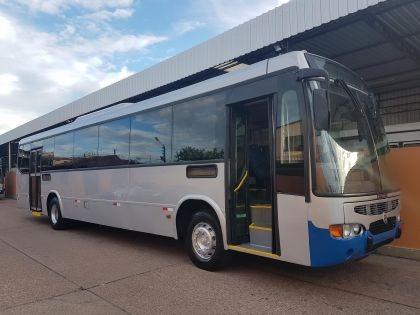 ônibus urbano mpolo vialle 2009, ar condic, 46 lug, 95 mil