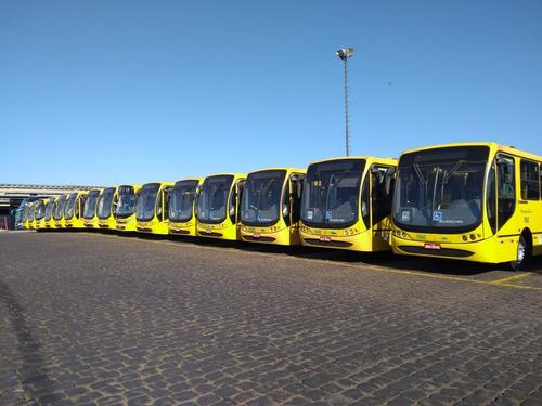 ônibus urbanos semi novos, 2009, mb of 1722, 34 lug, 55 mil