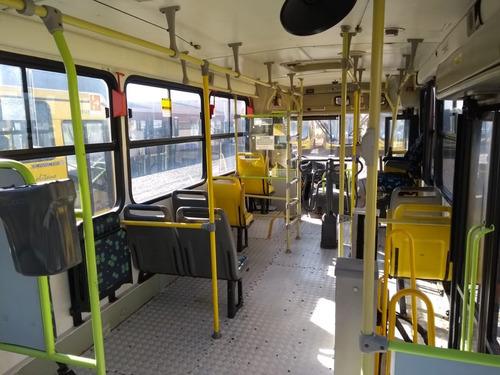 ônibus urbanos semi novos, 2009, mb of 1722, 34 lug, 65 mil