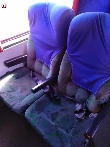 ônibus - vendo ou troco jogo de bancos marcopolo irizar