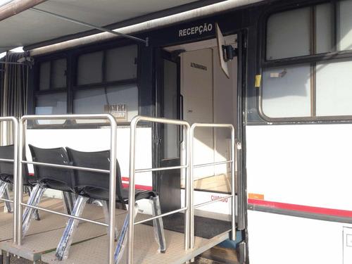 ônibus volvo clínica articulado