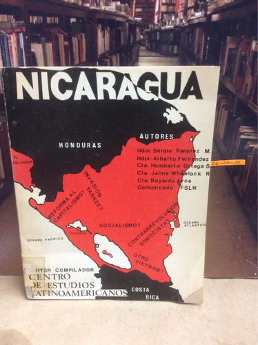 nicaragua. escritos
