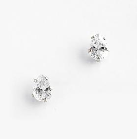 3641f810fffb Nice 218091 Aretes Broquel Cristal Diamonice Baño Rodio