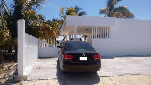 nice beach home for sale in chicxulub 2nd row with pool