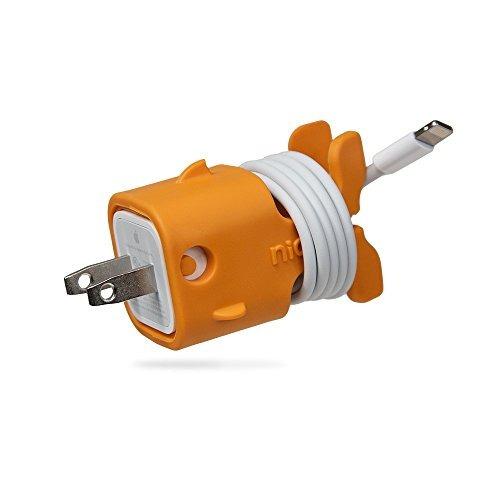 nice gld01 goldie cable keep  naranja