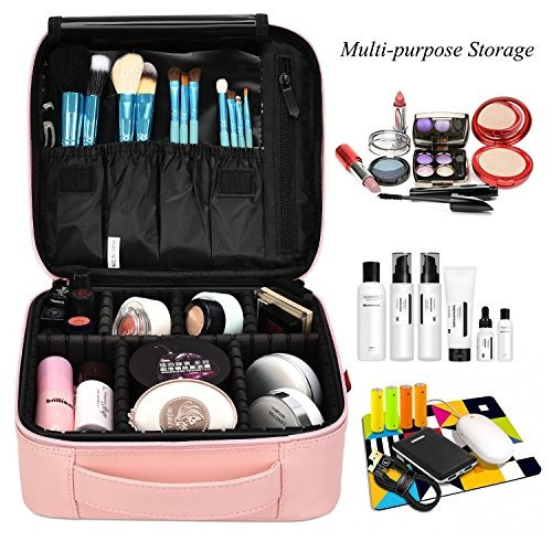 niceebag maquillaje bolsa de viaje bolsa de cosméticos par