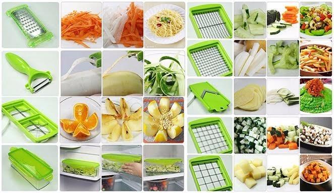 Nicer dicer plus cortador fatiador legumes verduras frutas r 26 82 em mercado livre - Coupe legumes nicer dicer plus ...