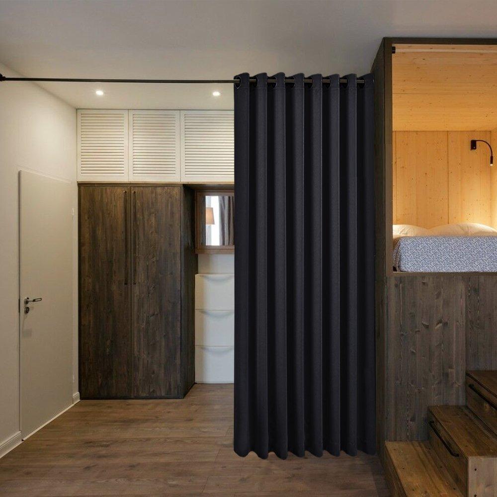 Nicetown Separador De Habitaciones Cortinas Pantallas Tab - Cortinas-en-habitaciones