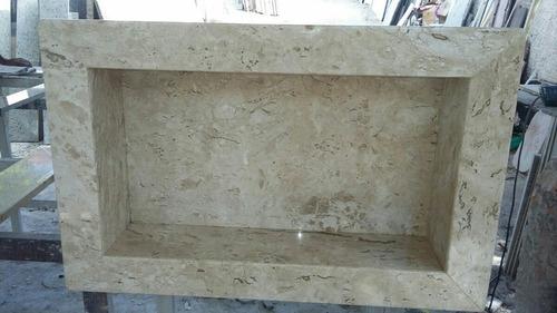 Nicho Banheiro Granito  R$ 120,00 em Mercado Livre -> Nicho Banheiro Mercadolivre