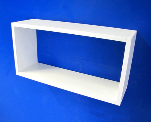 nicho branco 100% mdf 50x25x15 cm organizador 15mm espessura