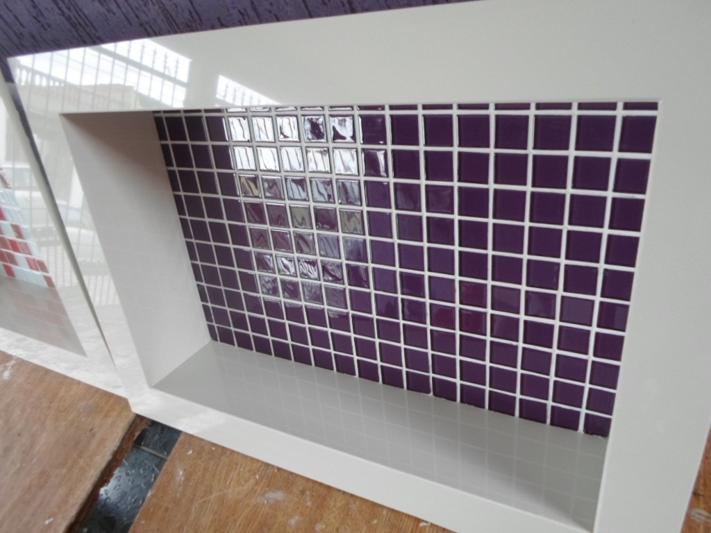 Nicho De Porcelanato Para Banheiro  R$ 350,00 em Mercado Livre -> Nicho Banheiro Box Medidas