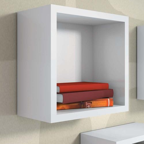 nicho decorativo 31x31x15 prateleira cubo parede ambientes