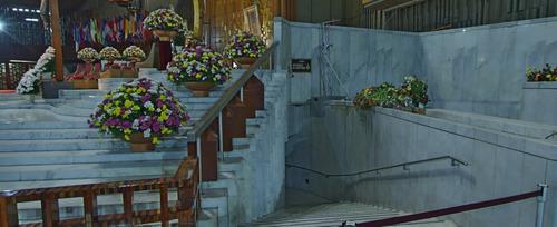 nicho dentro de la basílica de guadalupe