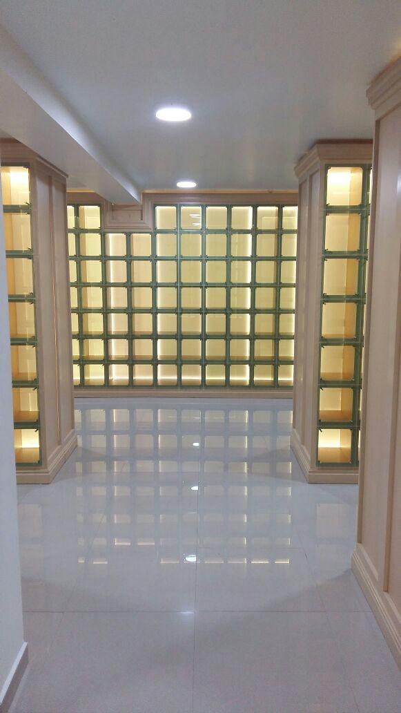 nicho mausoleo funerario urnas