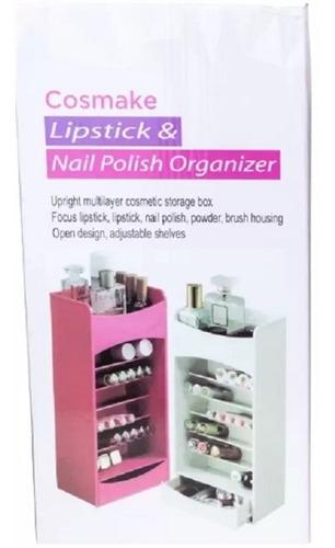 nicho organizador porta maquiagem esmalte ajustavel c gaveta