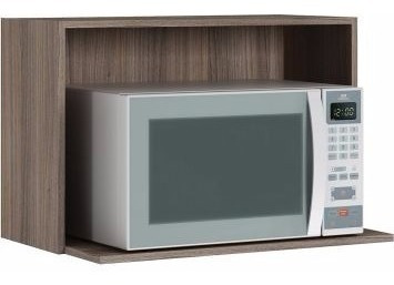 nicho para forno e microondas