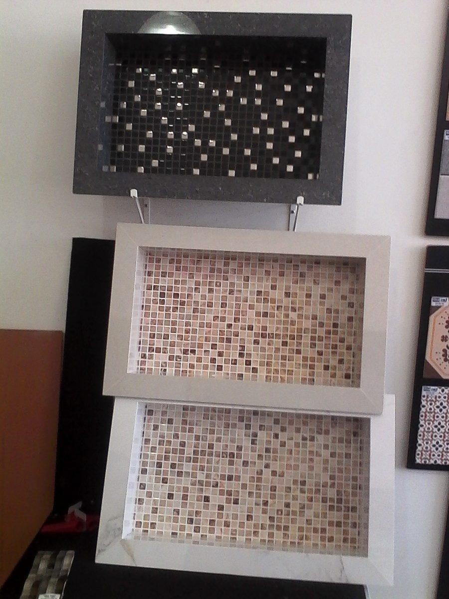 Nicho Porcelanato Banheiro Box Fundo Decorativo  R$ 220,00 em Mercado Livre -> Nicho Para Banheiro Valor