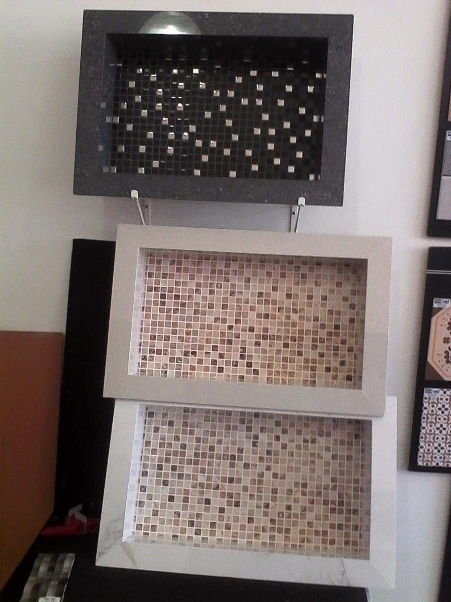 Nicho Porcelanato Banheiro Box Fundo Decorativo  R$ 220,00 em Mercado Livre -> Nicho Banheiro Em Porcelanato