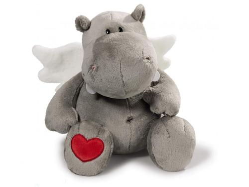 nici-  hippo love gris 35cm