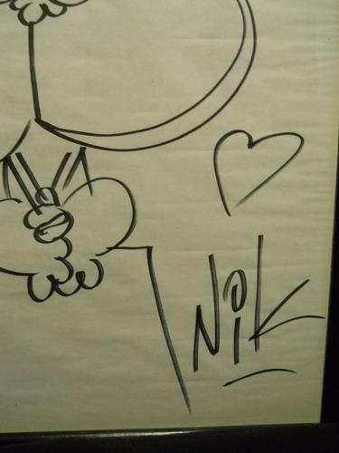 nick dibujo original gaturro  los enamorados