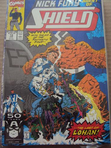 nick fury agent of shield # 19 - marvel comics - importada