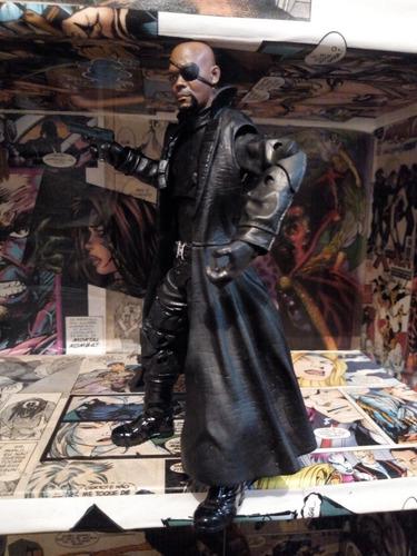 nick fury marvel legends homem aranha longe do lar