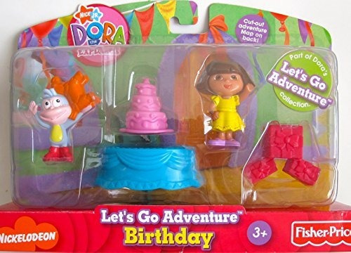 nick jr. dora the explorer vamos a aventurar cumpleaños