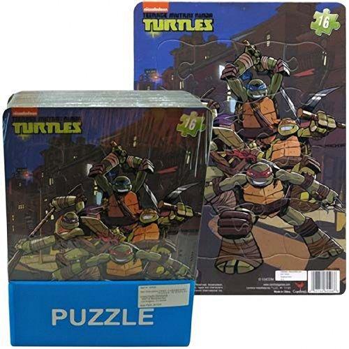 nick jr tortugas ninja 16 pedazos de rompecabezas - tmnt