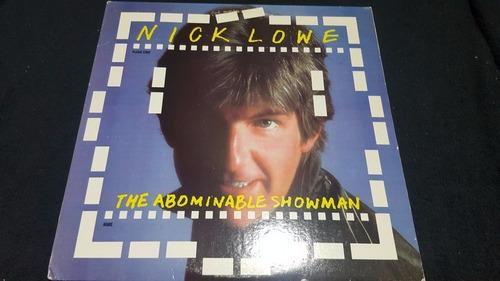 nick lowe the abominable showman lp vinil us 1983 rockpile