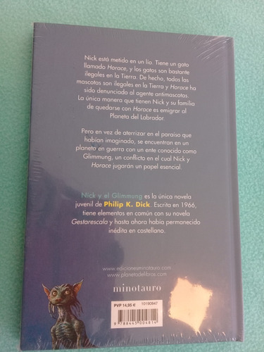 nick y el glimmung philip k. dick minotauro libro español