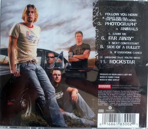 nickelback - all the right reasons - cdpromo nacional