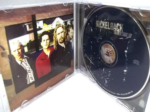 nickelback silver side up cd original muito bom estado