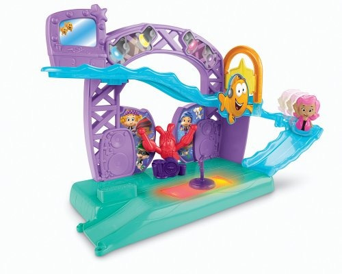 nickelodeon fisher-price bubble guppies, rock and roll stage