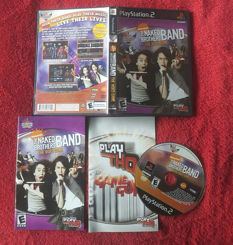 nickelodeon - the naked brothers band / playstation 2 ps2