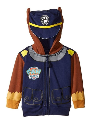 nickelodeon toddler boys paw patrol buzo capucha 2 a 5 años